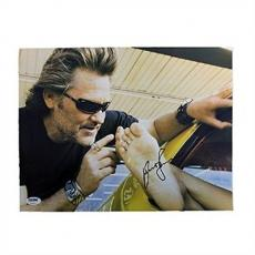 "Kurt Russell Autographed 11x14 ""Grindhouse"" PSA/DNA COA"