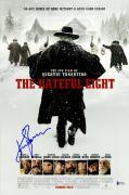 "Kurt Russell Autographed 12"" x 18"" The Hateful Eight Movie Poster - Beckett"