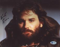 """Kurt Russell Autographed 8""""x 10"""" The Thing Photograph - BAS COA"""