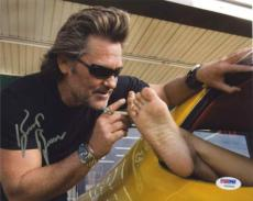 KURT RUSSELL Grindhouse Autographed Signed 8x10 Photo Certified PSA/DNA AFTAL