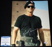 Kurt Russell signed 11 x 14, Tombstone, Poseidon, Stargate, Beckett BAS B05758