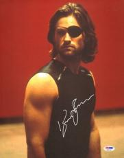Kurt Russell Signed 11x14 Photo PSA/DNA COA Escape from New York Picture Auto'd