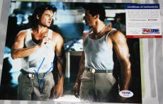 Kurt Russell signed 8 x 10, Tango & Cash, Tombstone, Death Proof, PSA/DNA, COA