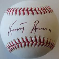 Kurt Russell Signed Authentic Autographed OMLB Baseball PSA/DNA #P57334