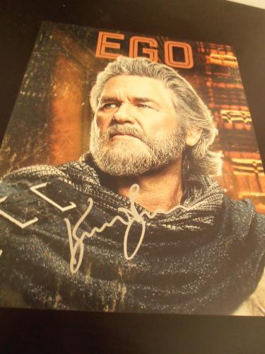 KURT RUSSELL SIGNED AUTOGRAPH 11x14 PHOTO GUARDIANS OF THE GALAXY 2 PROMO COA D
