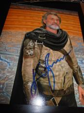 KURT RUSSELL SIGNED AUTOGRAPH 8x10 PHOTO GUARDIANS OF THE GALAXY 2 PROMO COA D