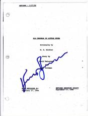 Kurt Russell Signed Big Trouble In Little China Script 113 Page Autograph Coa