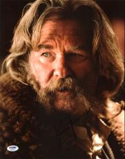 Kurt Russell The H8ful Eight Signed 11X14 Photo PSA/DNA #AA82476