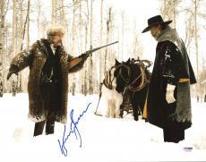 Kurt Russell The Hateful Eight Signed 11X14 Photo PSA/DNA #AC43198