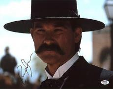 Kurt Russell Tombstone Signed 11X14 Photo Autographed PSA/DNA #AC43144