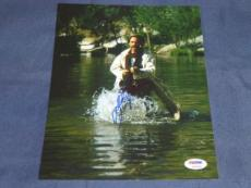 KURT RUSSELL TOMBSTONE SIGNED 8X10 PHOTO AUTOGRAPHED IN PERSON PSA/DNA CERT!! c