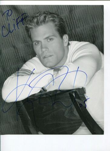 Kyle Brandt Days of Our Lives Rome Is Burning Signed Autograph Photo
