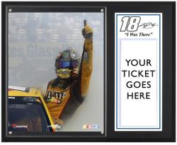 "Kyle Busch 2013 Cheez-It at the Glen Sublimated 12"" x 15"" I Was There Plaque - Mounted Memories"