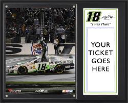 Kyle Busch 2013 NRA 500 Sublimated 12'' x 15'' I WAS THERE Plaque - Mounted Memories