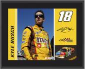 "2011 Kyle Busch Sublimated 10"" x 13"" Color Plaque"
