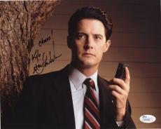 KYLE MACLACHLAN HAND SIGNED 8x10 PHOTO     AWESOME POSE     TWIN PEAKS      JSA