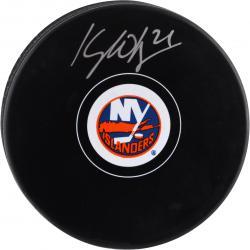 Kyle Okposo New York Islanders Autographed Hockey Puck