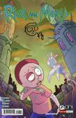Kyle Starks Autographed Rick and Morty Morty Comic with Artist Drawing - JSA