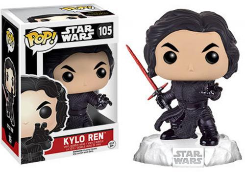 Kylo Ren Star Wars Episode 7 Battle Damage #105 Funko Pop!