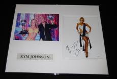 Hines Ward Autographed Photograph - Kym Johnson Framed 16x20 Set JSA DWTS w