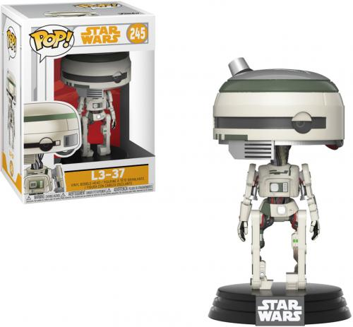 "L3-37 Star Wars ""Solo"" #245 Funko Pop!"