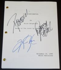 L.A. Confidential Autographed Script by Russell Crowe, Kim Basinger, and Danny DeVito