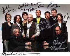 "L.A. LAW"" Signed by JILL EIKENBERRY, MICHELE GREENE, SUSAN RUTTAN, RICHARD DYSART, CORBIN BERNSEN, LARRY DRAKE, HARRY HAMLIN, SUSAN DEY, ALAN RACHINS, and MICHAEL TUCKER 10x8 Color Photo"