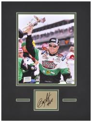 "Bobby Labonte Matted 8"" x 10"" Photo with Autograph & Plate"