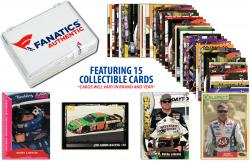 Bobby Labonte Collectible Lot of 15 NASCAR Trading Cards - Mounted Memories