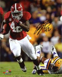 Eddie Lacy Alabama Crimson Tide Autographed 8x10 Photo vs LSU