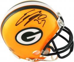 Eddie Lacy Green Bay Packers Autographed Riddell Mini Helmet - Mounted Memories