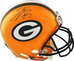 Eddie Lacy Green Bay Packers Autographed Riddell Pro-Line Authentic Helmet - Mounted Memories