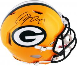 Eddie Lacy Green Bay Packers Autographed Riddell Pro-Line Authentic Revolution Helmet - Mounted Memories