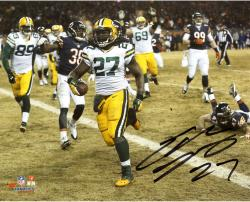 "Eddie Lacy Green Bay Packers Autographed 8"" x 10"" Horizontal TD vs. Chicago Bears Photograph"