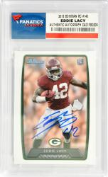 Eddie Lacy Alabama Crimson Tide Autographed 2013 Bowman Rookie #140 Card