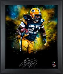 Eddie Lacy Green Bay Packers Framed Autographed 20x24 In Focus Photograph
