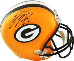 Eddie Lacy Green Bay Packers Autographed Riddell Replica Helmet - Mounted Memories