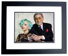 Lady Gaga Signed - Autographed Concert 8x10 inch Photo pictured with Tony Bennett - BLACK CUSTOM FRAME - Guaranteed to pass PSA or JSA - Stefani Germanotta
