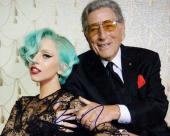 Lady Gaga Signed - Autographed Concert 8x10 inch Photo - Guaranteed to pass PSA or JSA pictured with Tony Bennett - Stefani Germanotta