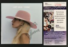 Lady Gaga Signed Autographed Joanne Cd Booklet Artpop Born This Way Jsa Coa