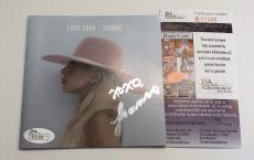 LADY GAGA signed JOANNE CD Insert Cover Booklet JSA Authentication