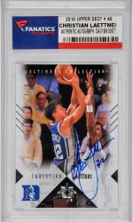 Christian Laettner Duke Blue Devils Autographed 2010 Upper Deck #46 Card