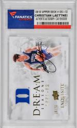 Christian Laettner Duke Blue Devils Autographed 2013 Upper Deck #DS-CL Card