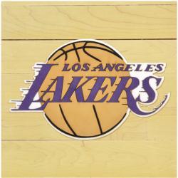 """NBA Los Angeles Lakers 12"""" x 12"""" Logo Floor Piece"""