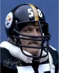 "Pittsburgh Steelers Jack Lambert Signed 16"" x 20"" Photo"