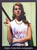 Lana Del Rey Signed 11x14 Photo Autograph Psa Dna Coa