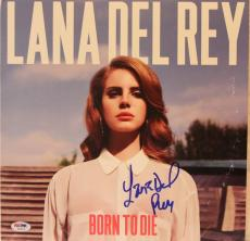 "LANA DEL REY Signed Autographed ""Born To Die"" Album LP PSA/DNA #AB16214"