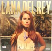 """LANA DEL REY Signed Autographed """"Paradise"""" Album LP PSA/DNA #AB16210"""