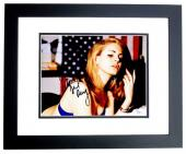 Lana Del Rey Signed - Autographed Sexy Singer Songwriter 11x14 inch Photo BLACK CUSTOM FRAME - JSA Certificate of Authenticity
