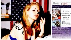 Lana Del Rey Signed - Autographed Sexy Singer Songwriter 11x14 inch Photo - JSA Certificate of Authenticity